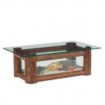 ガラス水槽テーブル