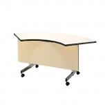 会議用テーブル(幕板付)コーナー