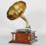 アンティーク調レプリカ蓄音機