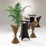 ガーデンハイテーブル
