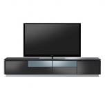 テレビボード(ラドゥーニ)ブラック